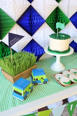 golf birthday party favors