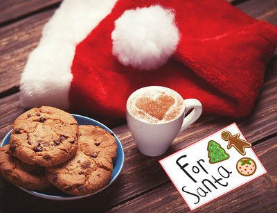 """FREE """"For Santa"""" Cookies Card & 50 Holiday Cookie Recipes"""