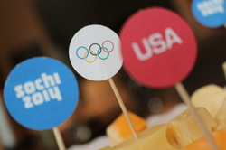 Friday's Freebie- Bonus…..Olympic Food Toppers!!!