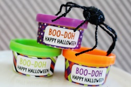 FREE Printable Play-Doh Wrappers for Non Candy Halloween Treats