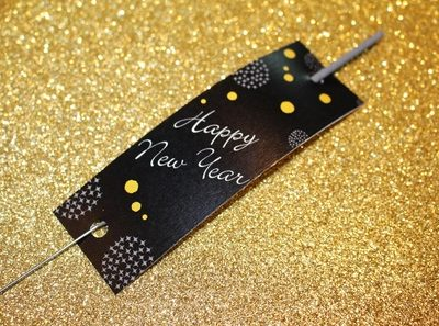 Friday's Freebie- New Year's Eve Sparkler Holders