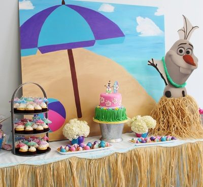 Fun Frozen Party in Summer!!