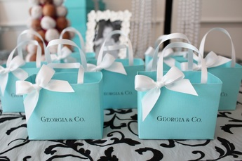 tiffany party favors