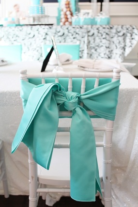 tiffany party decorations