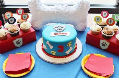 Griffin's 3rd Paw Patrol Birthday Party