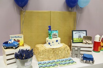 Harrison's Little Blue Truck Birthday Party