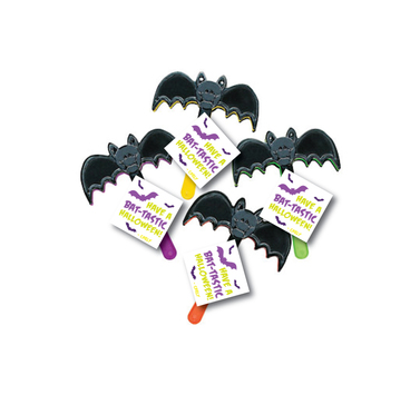 """Have a Bat-tastic Halloween!"" Tags & Toys"