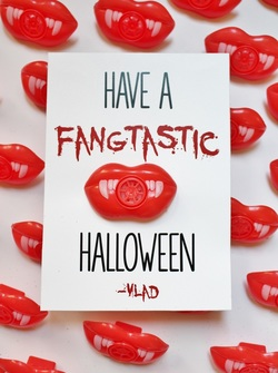 Have a Fangtastic Halloween Gift Tags