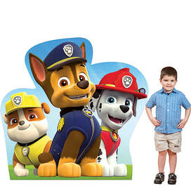 Paw Patrol Cardboard Character Standees