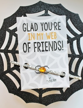 I'm Glad you're in my Web of Friends!!