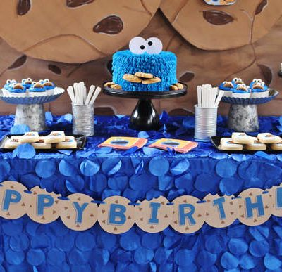 Invite Cookie Monster to Your Party! Leo's 3rd Birthday