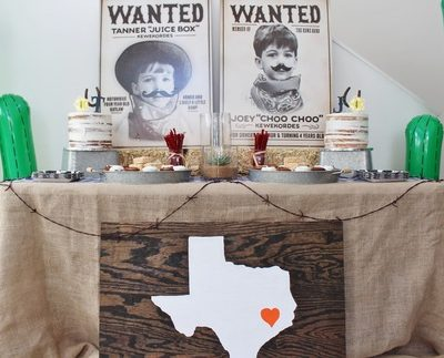 Western Party Ideas- Joey & Tanner's 4th Birthday
