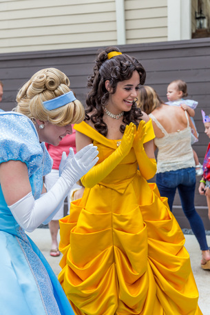 belle for a beauty and the beast party