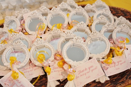 beauty and the beast party favors