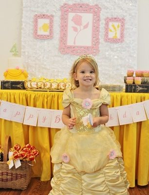 Kate was the Belle of the Ball at her Beauty & The Beast Party!