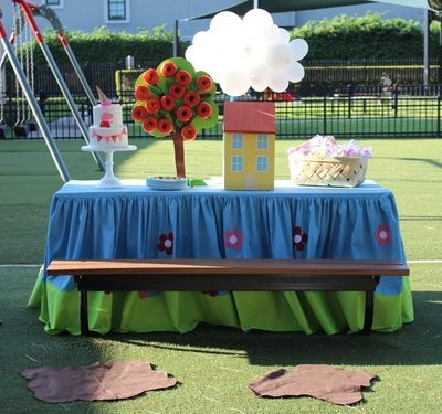 Peppa Pig Party Ideas- Lila's Park Party