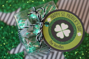 Make-it-Monday: St Patty's Day Kisses