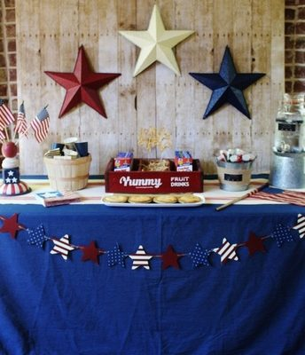 Memorial Day Backyard BBQ Party Ideas