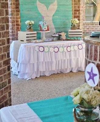 Simple Ideas for a Beach Inspired Mermaid Party