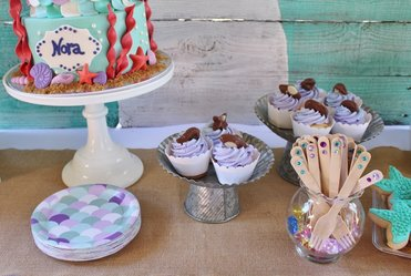mermaid party ideas and mermaid party decorations