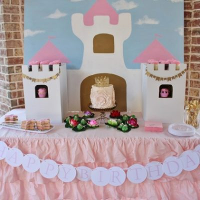 Nora's Pink Princess Birthday Party