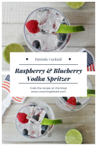 patriotic vodka spritzer recipe