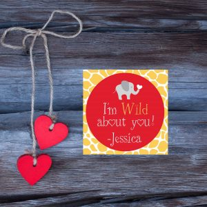 """I'm Wild About You"" Valentine's Day Card"