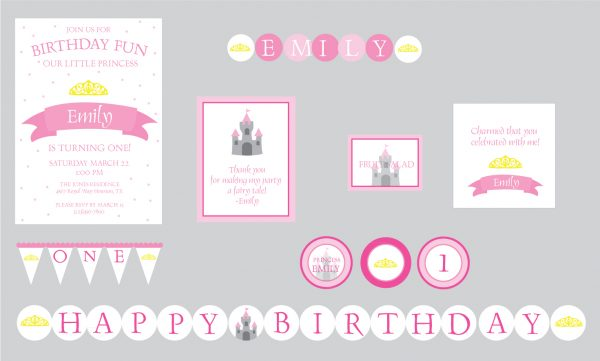 Princess Birthday Party Package