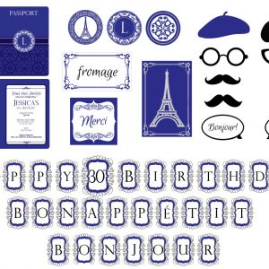 Parisian Party Package