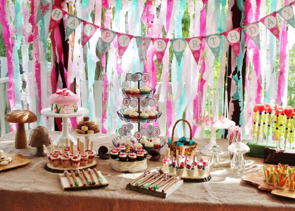 Woodland Fairy Birthday Party Package