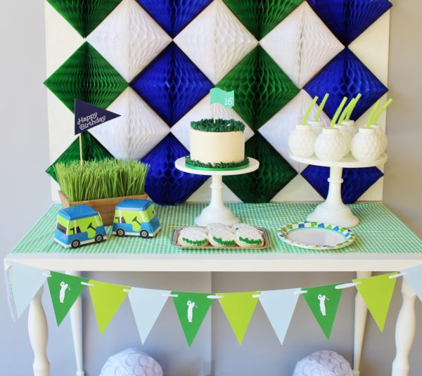 Boy's Golf Birthday Party Package $14.99