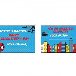 Spiderman Valentine's Day Card