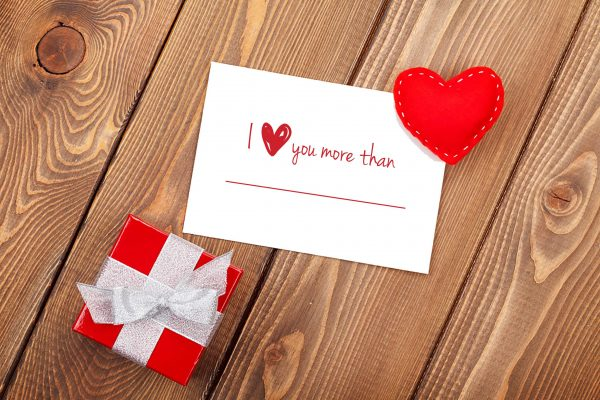 """I Love you More Than...."" Anniversary/Valentine's Day Cards"