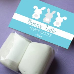 """""""Bunny Tails"""" Favor Tag"""