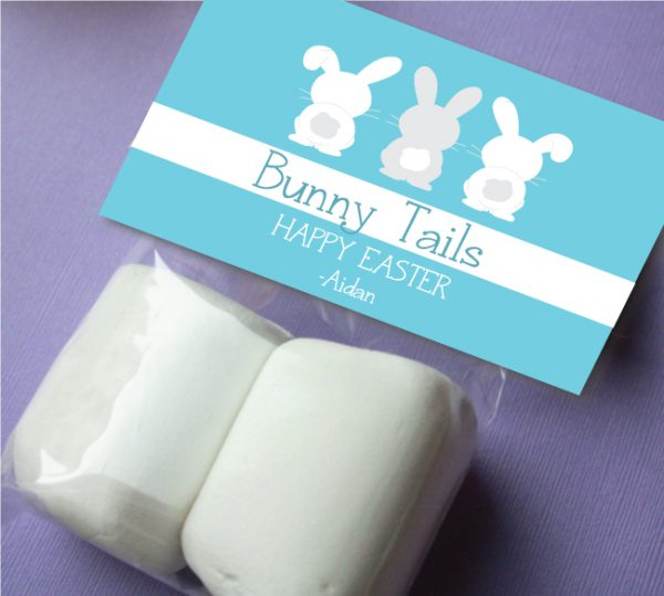 """Bunny Tails"" Favor Tag"