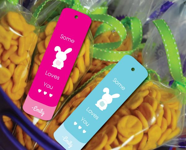 """""""Some Bunny Loves You"""" Gift Tags"""