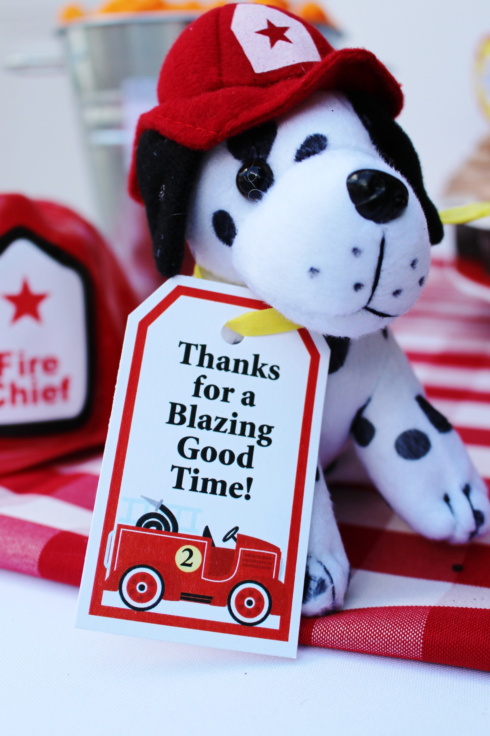 Fireman Party Theme Firetruck Party Printables Crowning