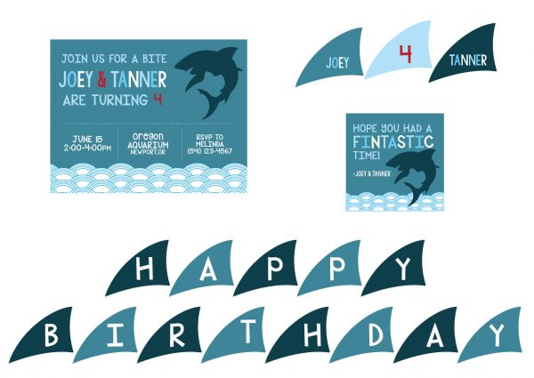Shark Birthday Party Theme