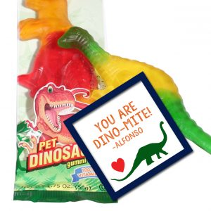 You are Dinomite Valentines- Dinosaur Valentines