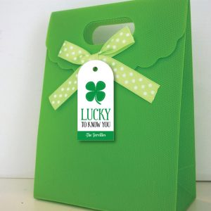 Lucky To Know You- St Patrick's Day Tags