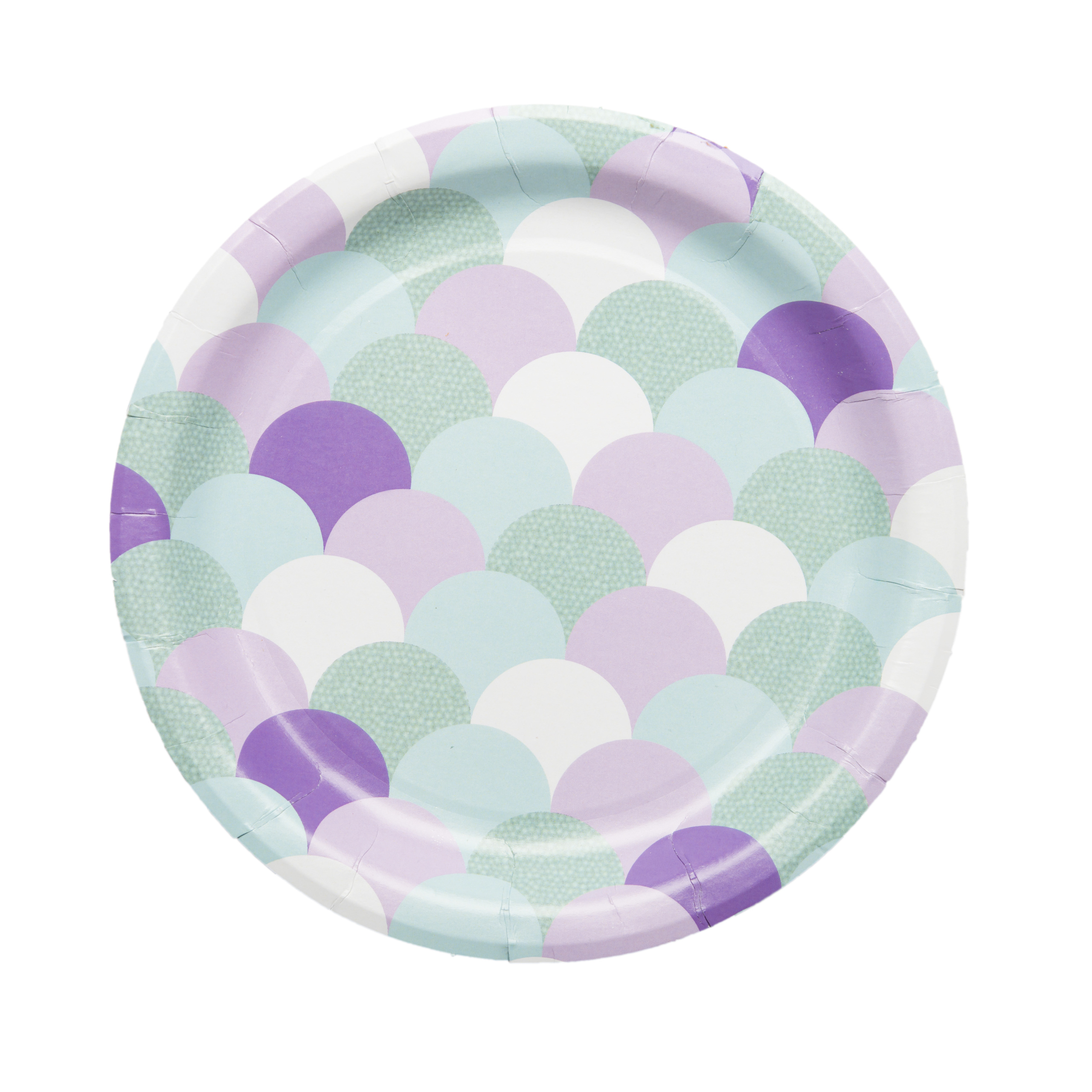 Mermaid Party Supplies- Paper Plates (Dessert)