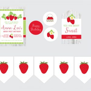Strawberry Party Supplies