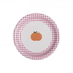Pumpkin Party Supplies- Pumpkin Paper Plates