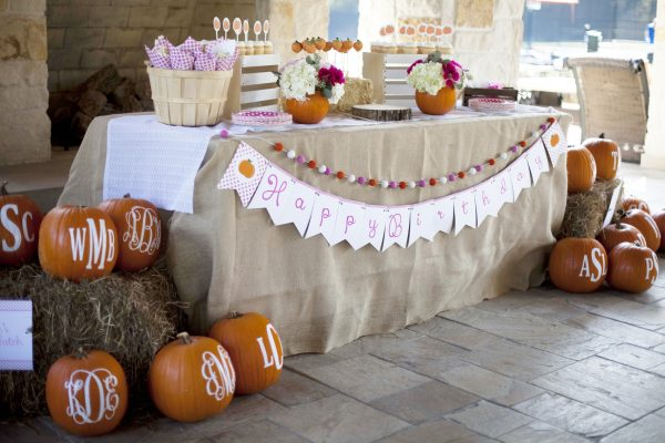 Pumpkin Paper Cups- Pumpkin Party Supplies
