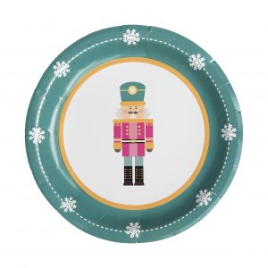 Nutcracker Dinner Paper Plates
