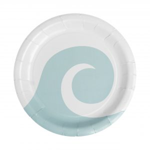 Surfer Party Supplies- Dinner Plates