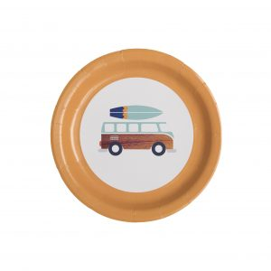 Surfer Party Supplies- Dessert Plates