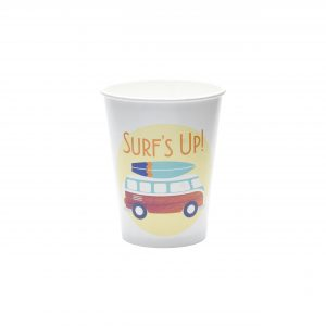Surfer Party Supplies- Paper Cups