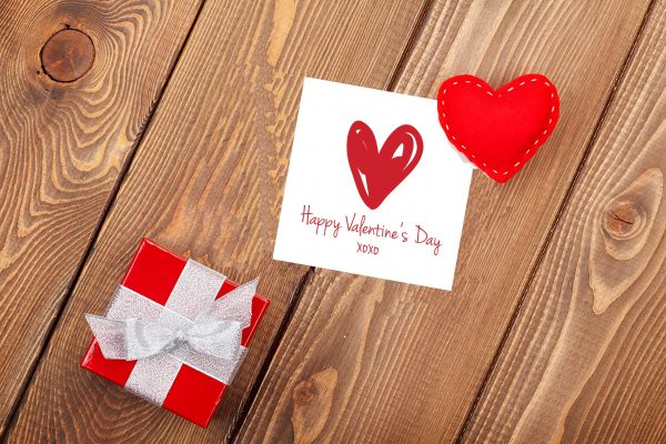 "Square ""Happy Valentine's Day"" Cards"