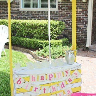 Stella's Summer Sunshine Birthday Party